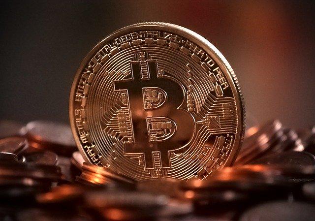 zlatý bitcoin