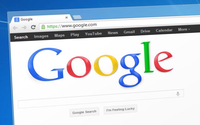 prostředí prohlížeče Google chrome
