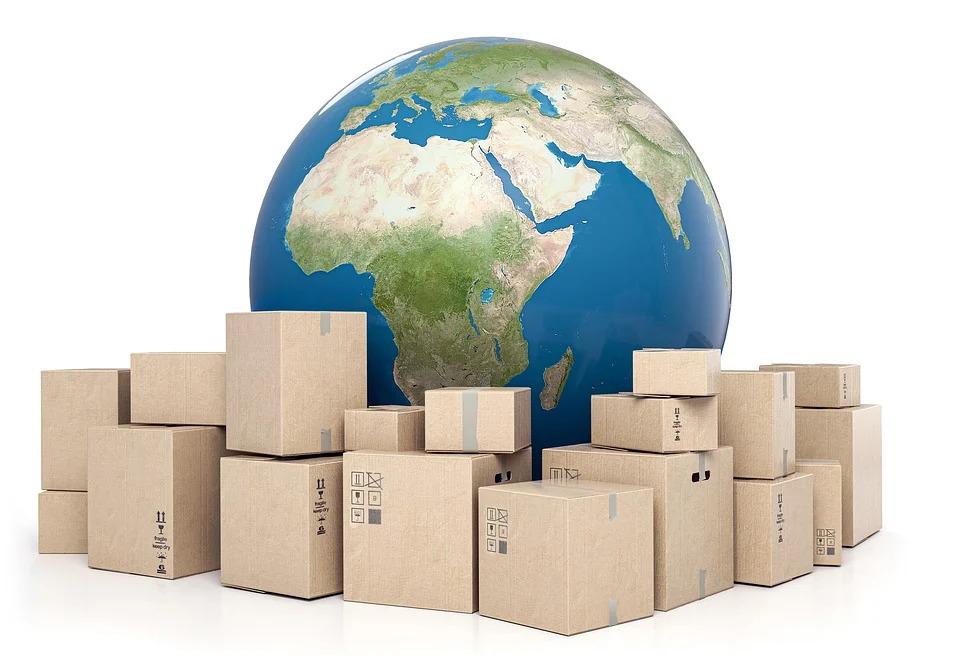 papírové krabice pro stěhování